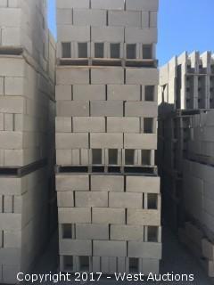 1 Pallet Masonry Block - 8x8x16 OE STD Precison Grey Lightweight