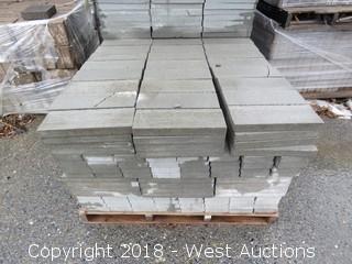 6x2x16 Solid Cap Lightweight Grey