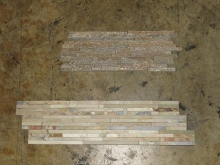 "Pallet: Mix, Split Face Panels, 13"" X 13"" Tile, 17"" x 17"" Tile"