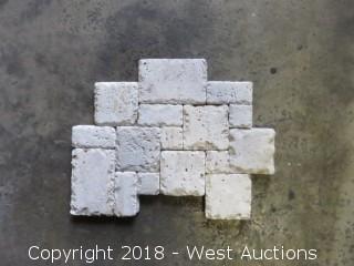 "Pallet: 14"" x 11"" Stone Mosaic"