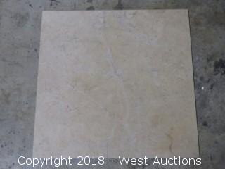 "Crate: 18"" x 18"" Travertine Tile"