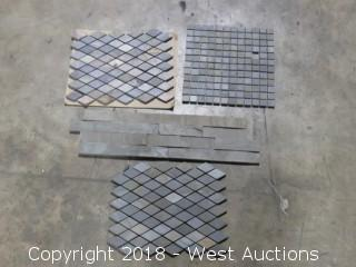 "Pallet: Sonora Tumbled 12"" x 12"" Mosaic Slate (Multiple Styles)"