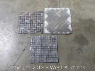 "Pallet: Sonora Tumbled 12"" x 12"" Mosaic Tiles"