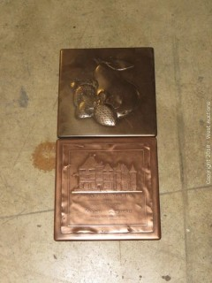 "Pallet: Bronze 6"" x 6"" Decorative Wall Tiles"