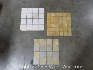 "Pallet: 12"" x 12"" Mosaic Tiles (Multiple Styles)"