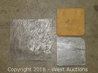 "Pallet: 6""x 6"" & 4""x 4"" Stone Tiles"