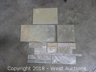 Crate: Medras Yellow Multi Size Stone Tiles