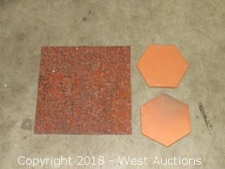 "Crate: Entire Crate of 6"" Hexigon, and 12""x12"" Tiles"