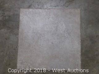 """Pallet: Elysium Gold 18"""" x 18"""" Tile"""