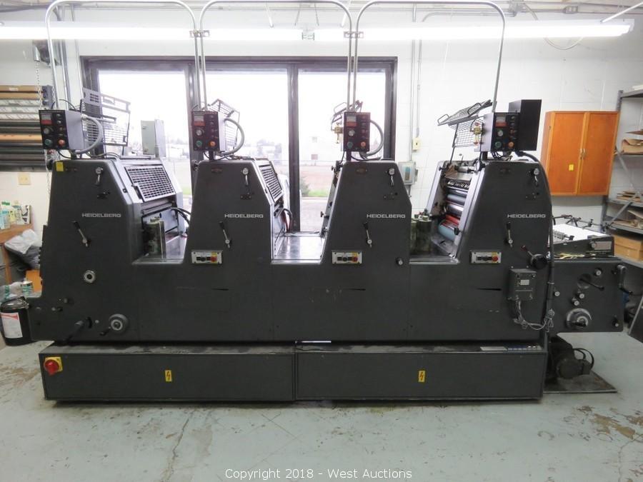 Complete Liquidation of Montague-Spragens Printers & Lithographers