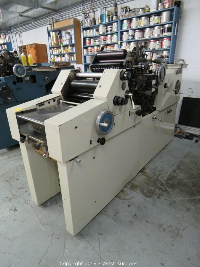 Complete Liquidation of Montague-Spragens Printers & Lithographers
