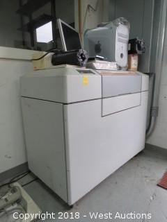 AGFA SelectSet 5000 Drum Machine with Mac Computer, Film Cartridge