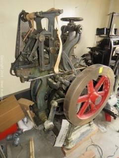 C.R. Carver Embossing Press