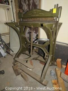 Vintage F.B. Rosback Perforator