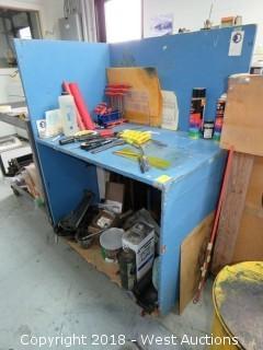 Portable Work Station 3' X 2'