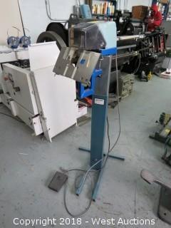 Isaberg Elstapler Type A101e Electric Stitcher On Stand