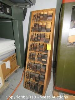 Lockup And Letterpress Cabinet