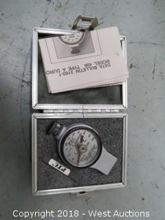 PTC 408 Type A Durometer And Case