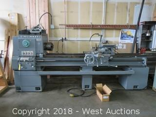 Cincinnati Hydrashift 17 x 72 Engine Lathe