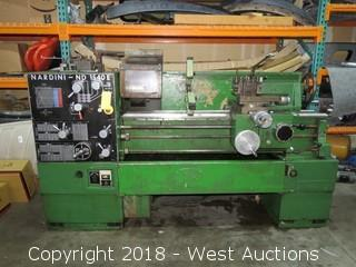 "Nardini Nd 1540 E 15"" x 40"" Engine Lathe"