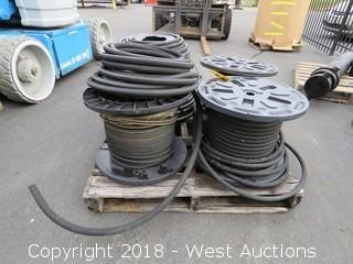 (4) Spools of Hydraulic Hose
