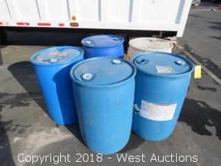(5) Plastic Drums