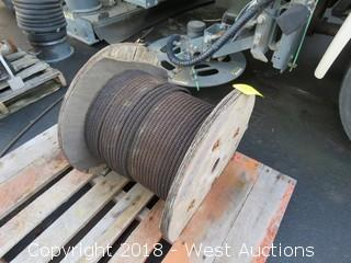 (1) Cable Spool