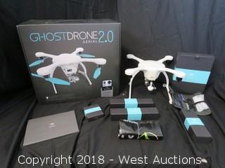 (White) Ghostdrone 2.0 Aerial