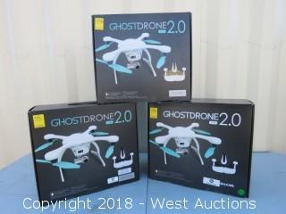 (3) White Ghostdrones 2.0 VR