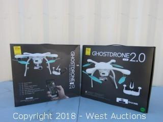 (2) White Ghostdrones 2.0 VR