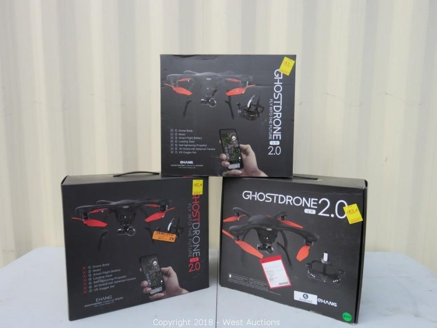 Bankruptcy Auction #2: EHANG Ghostdrones Returns