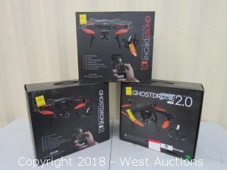 (3) Black Ghostdrones 2.0 VR