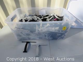 Bin Of Spare Drone Landing Gear
