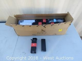 Box Of (28) Sets Of Propeller Blades And (14) Power Adapters