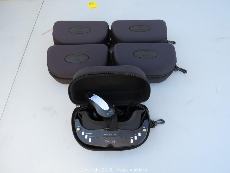 Bankruptcy Auction #3: EHANG Drone Parts, Accessories and Furniture