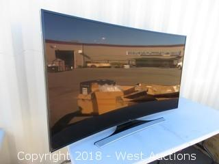 "Samsung 65"" Curved UHD Television"