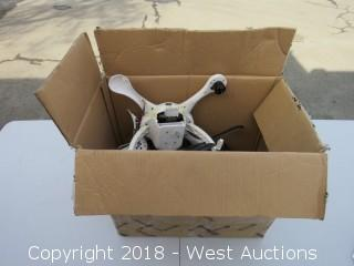 Box of Drone Spare Parts