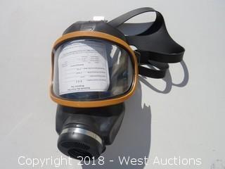 MSA Silicone M6 C2 Respirator LARGE