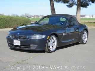 2008 BMW Z4 3.0i Roadster Convertible
