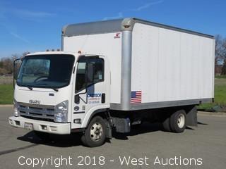2014 Isuzu NPR HD Diesel 16' Box Truck