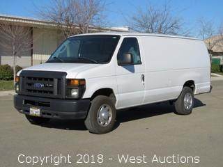 2014 Ford V8 E-250 Super Duty Cargo Van Advancetrac RSC