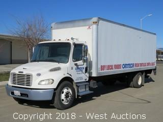 2008 Freightliner Cummins Business Class M2 26' Box Truck with Lift Gate