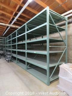 (5) Sections Of 11' Tall X 5' Deep Pallet Racking (Disassembled)