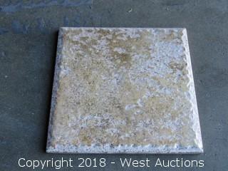 "Pallet; (110+) Boxes of Exrusco Bone 6""x 6"" Tiles"