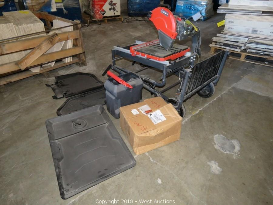Closeout Tile Inventory Auction