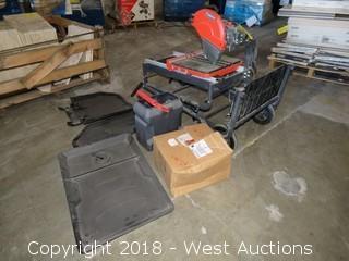 Rubi Dt250 Evolution Complete Tile Saw System (Unused)