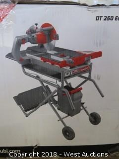 Rubi DT 250 Evolution Complete Tile Saw System (New in box)