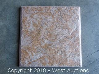 "Pallet; (110+) Boxes of Ferrara Gold 6""x 6"" Tiles"