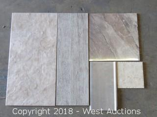 Crate; Assorted Tile