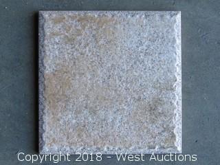 "Pallet; (110+ ) Etrusco Bone 6""x 6"" Tiles"